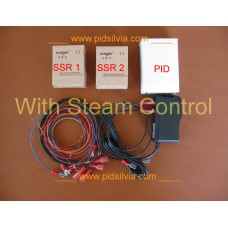 Internal External PID e-Kit for Silvia with Brew and Steam control 48 inch